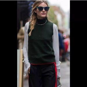 NWT Zara sleeveless sweater vest Olivia Palermo sm